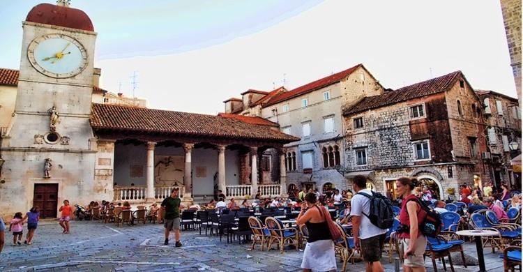 Plaza en Trogir. Mario Fajt (Flickr)