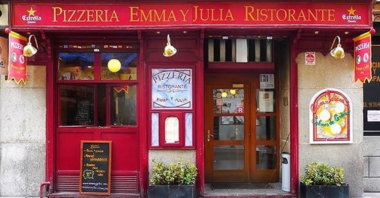 Exterior de Emma y Julia. (www.viajarsingluten.files.wordpress.com).