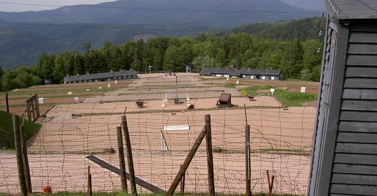 Campo de concentración de Natzweiler-Struthof. Ralf Schulze (Flickr)