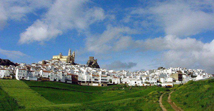 Olvera en Andalucía