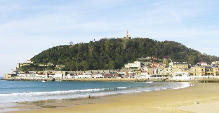 La playa de la Concha está considerada la playa más bonita del mundo. (Flickr)