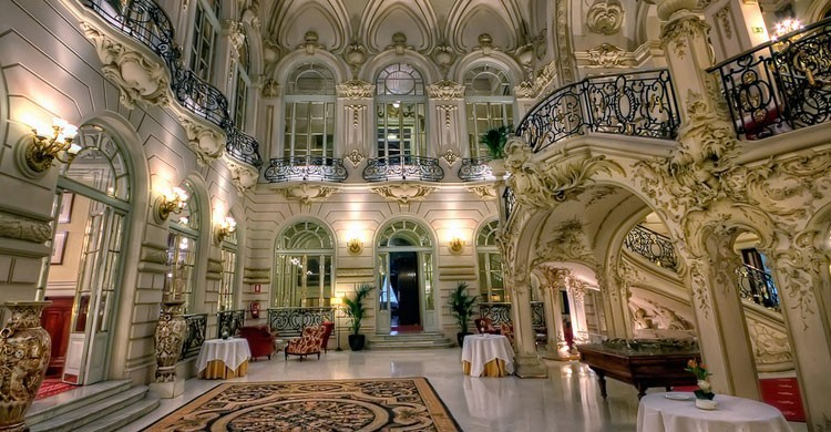 Restaurante Casino de Madrid (Fuente: casinodemadrid.es)