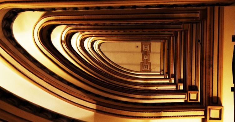 Escalera de mármol del Círculo de Bellas Artes (Flickr)