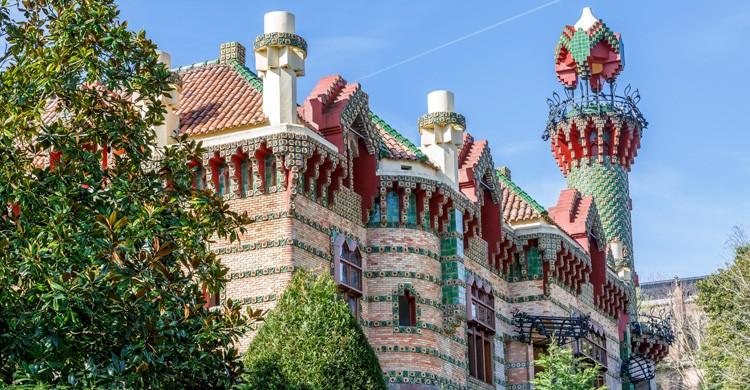 El Capricho, de Gaudí, en Comillas (iStock)