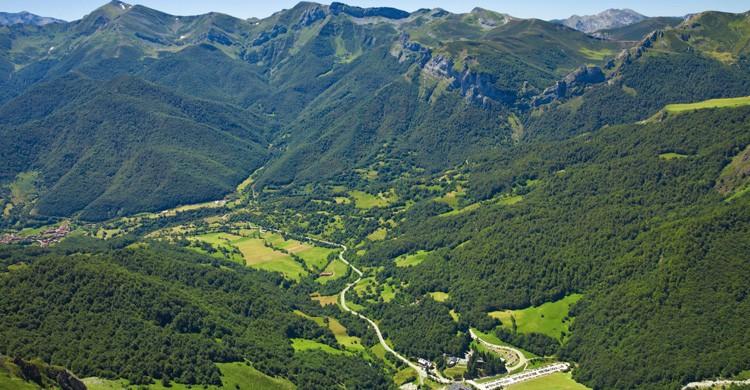 Vista de los Picos de Europa (iStock)