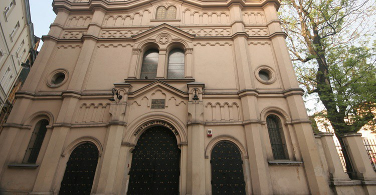 Sinagoga en Kazimierz. Ana Paula Hirama (Flickr)