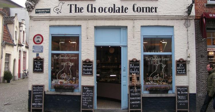 Bélgica es al chocolate lo que España a la paella. Y punto. Kristina D.C. Hoeppner (Flickr)