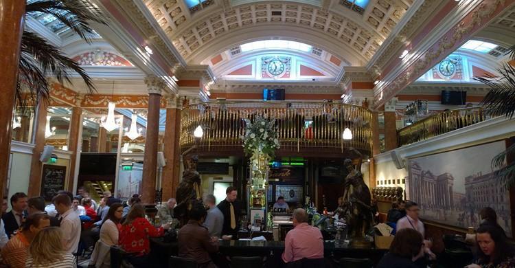 Restaurante The Bank de Dublín. Yzukerman (Flickr)