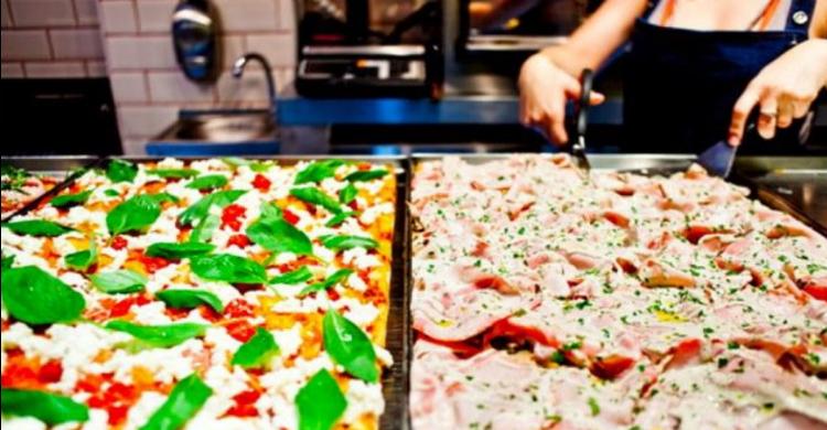 Pizzas para todos los gustos y colores. (Facebook al Cuadrado)