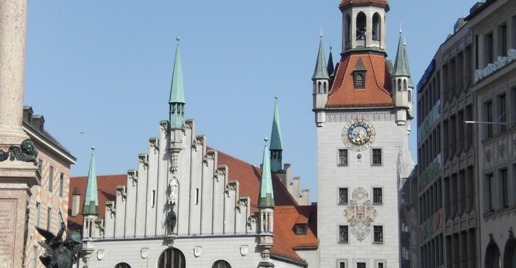 Antiguo Ayuntamiento de Múnich (Wikimedia.org)