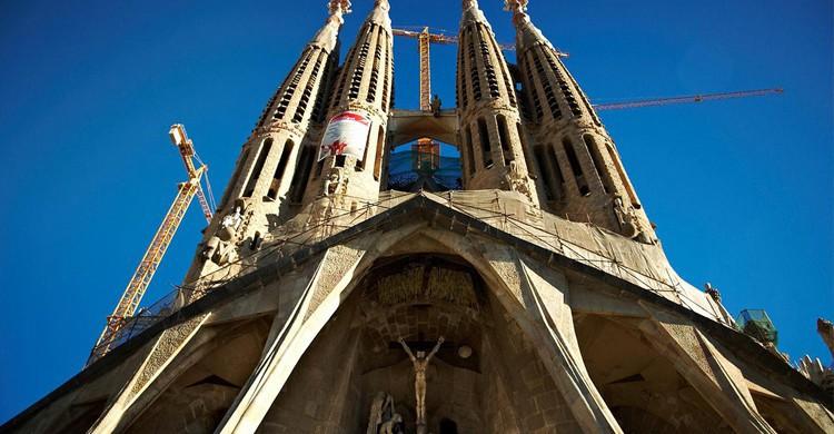 Sagrada Familia de Barcelona (Flickr)