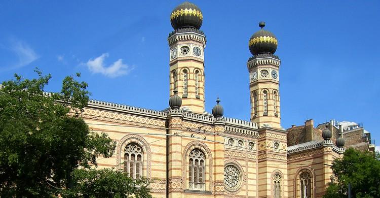 La Gran Sinagoga de Budapest o Sinagoga Dohány (iStock)