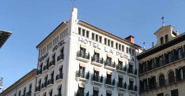 Hotel La Perla ha sido el elegido por destacadas personalidades (Flickr)