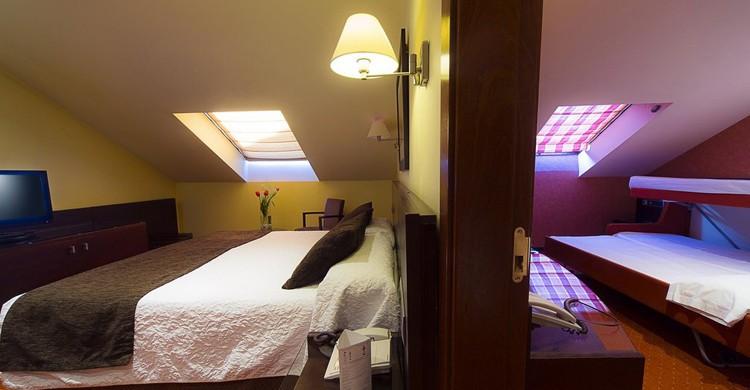 Habitación familiar en el Sercotel San Juan de los Reyes en Toledo (Hotelsanjuandelosreyes.com)