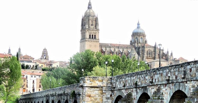 Vistas de Salamanca desde el Río Tormes (Flickr)