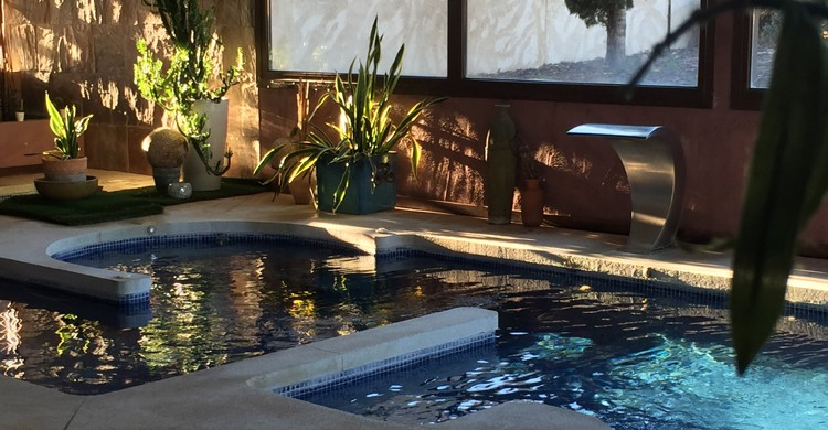 Spa del Hotel Villa Nazules en Almonacid (Villanazules.com)