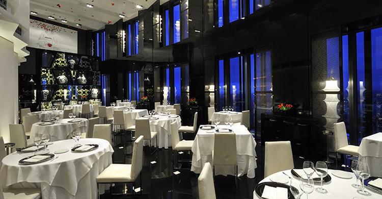 Restaurante Volvoreta. (http://www.eurostarsmadridtower.com)