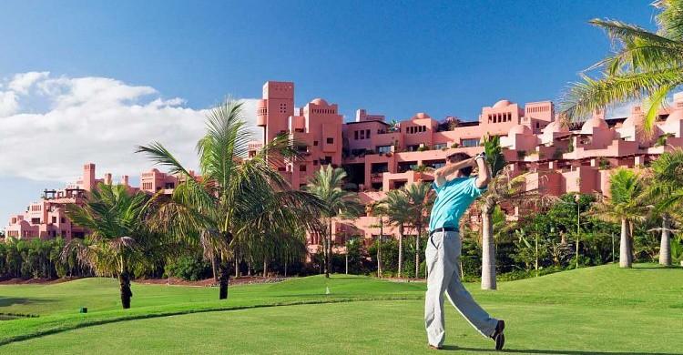 Abama Golf Resort, en Tenerife. (http://www.abamahotelresort.com/)