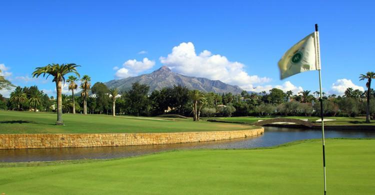Las Brisas Golf, en Marbella (http://www.realclubdegolflasbrisas.es)