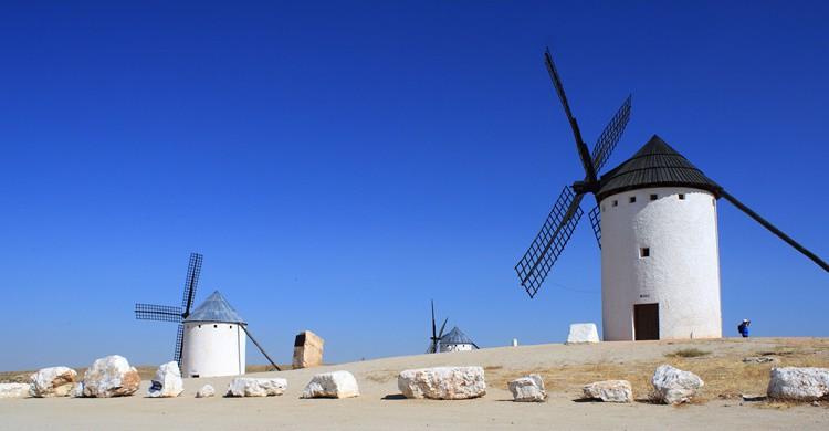 Molinos en Campo de Criptana. M.Peinado (Flickr)