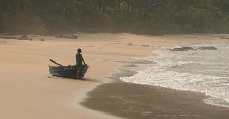 Playa de Nosara. Carlos Adampol Galindo (Flickr)