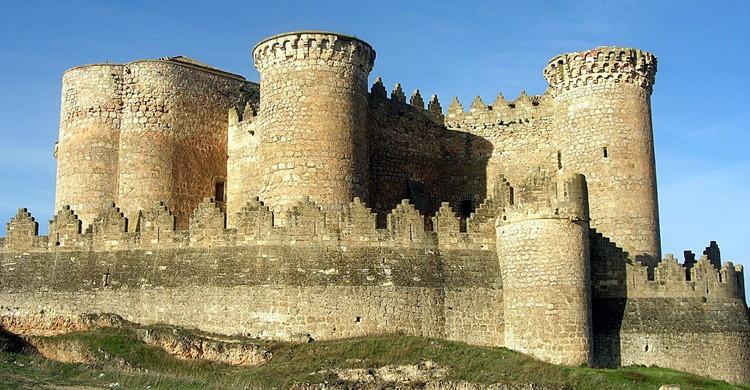 Castillo de Belmonte. Pegatina1 (Flickr)