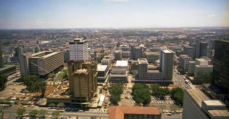 Vista parcial de Nairobi. Brian Snelson (Flickr)