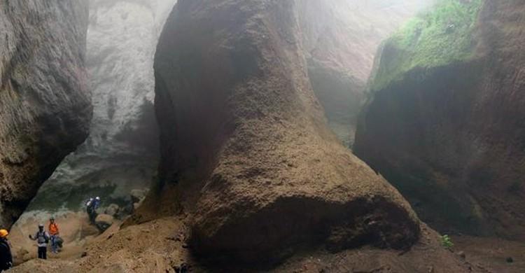 Barranco de Los Arcos. Diskover