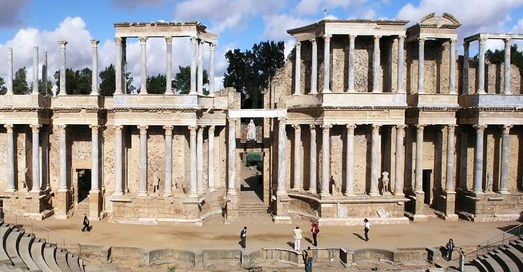 Teatro Romano de Mérida (wikimedia.org)