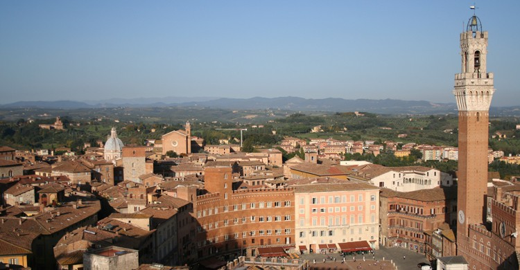 La Piazza del Campo, centro de la ciudad de Siena (iStock)