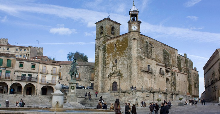 Plaza Mayor de Trujillo. Antonio Guerra (Flickr)