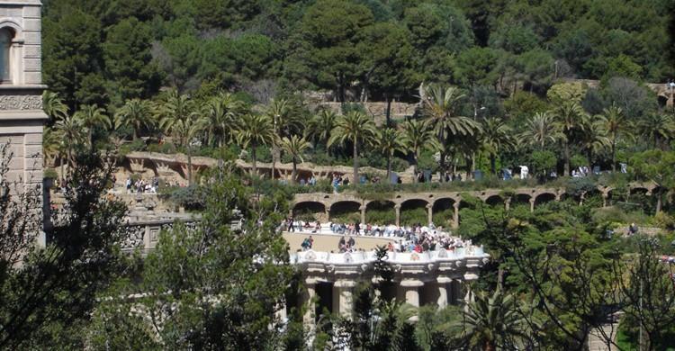 Aspecto general del Parque Güell. Alex Bikfalvi (Flickr)