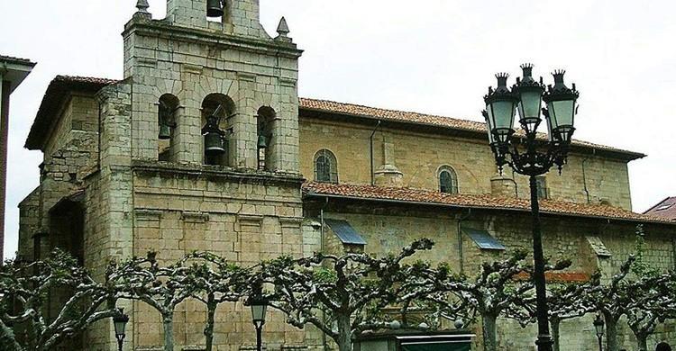 Iglesia de San Martín. Zarateman (Wikipedia)