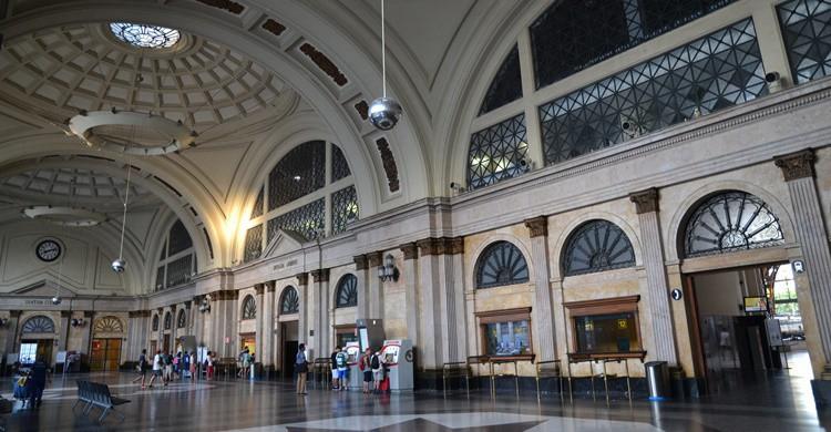 Vestíbulo de la estación de Francia en Barcelona. Stéphane D (Flickr)