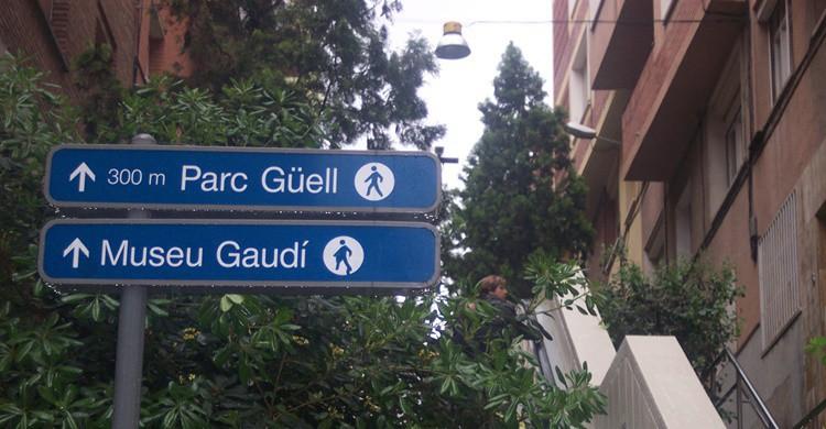 Subida al Parque Güell. Juan Pablo Ortiz Arechiga (Flickr)