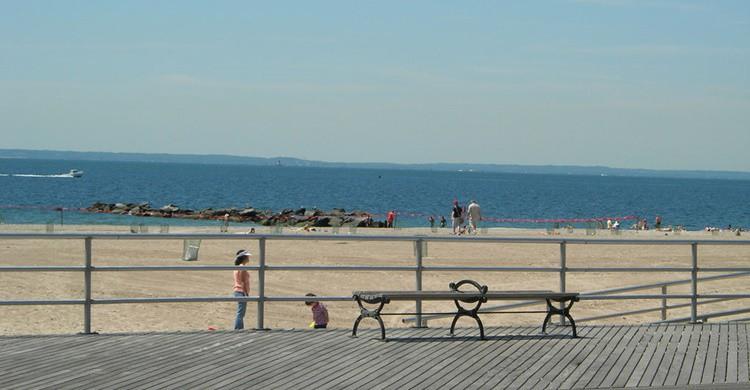 Playa en Nueva York. Kevin Saff (Flickr)
