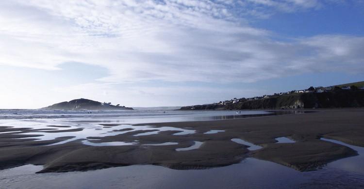 Arenal en Bantham Beach. Mark A Coleman (Flickr)