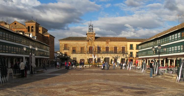 Plaza Mayor de Almagro, en Ciudad Real (wikimedia.org)