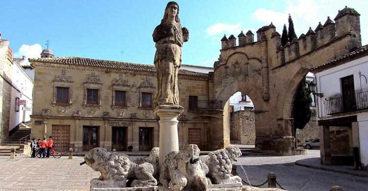 Plaza del Pópulo en Baeza, Jaén. Santiago López-Pastor (Flickr)