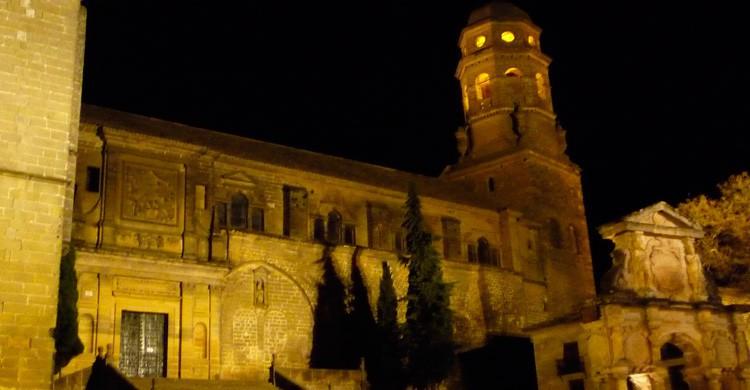 La noche en Baeza, Jaén (Flickr)