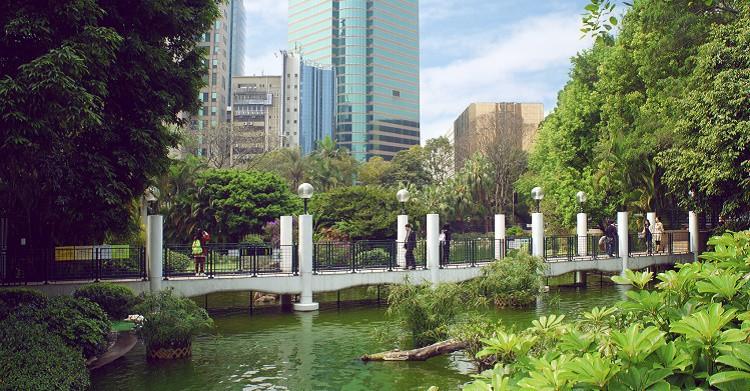 arque de la Ciudad Amurallada de Kowloon. iStock