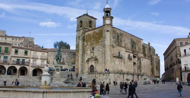 Plaza Mayor de Trujillo, en Cáceres. Antonio Guerra (Flickr)