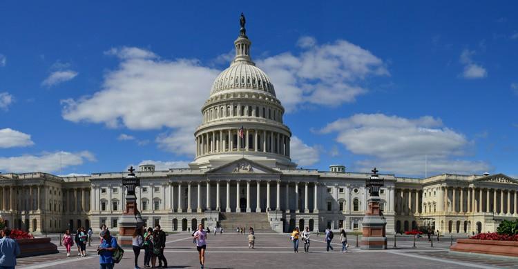 El Capitolio, en Washington DC. Chris Hag (Flickr)