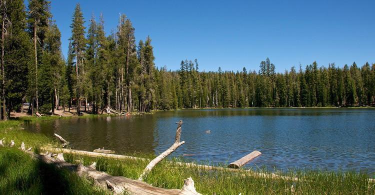 Vista de Summit Lake, en el parque volcánico de Lassen. Don DeBold (Flickr)