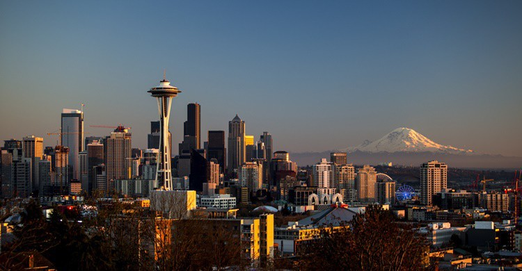 Vista general de Seattle. Tiffany Von Arnim (Flickr)