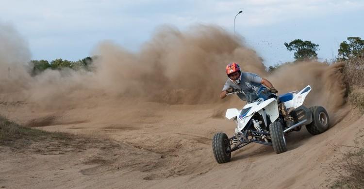Aficionado al quad. (mickael boulenger - Flickr)