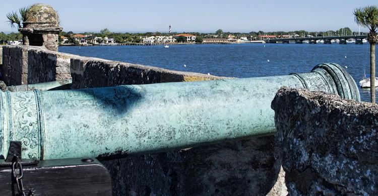 Castillo de San Marcos en San Agustín, Florida. Dan Lundberg (Flickr)