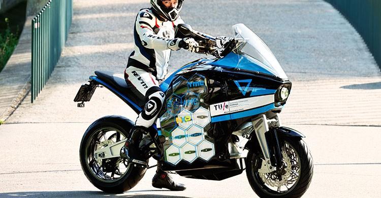 En moto eléctrica (https://www.storm-eindhoven.com)