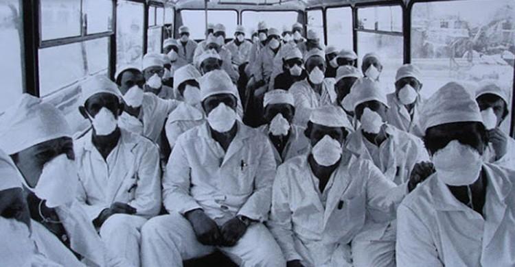 Liquidadores de Chernobil (http://www.roundtree7.com/2011/03/chernobyl-then-and-now/)