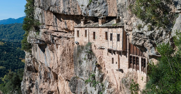 monasterio en Meteora / Grecia (Istock)